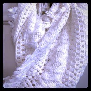 Cream Infiniti scarf